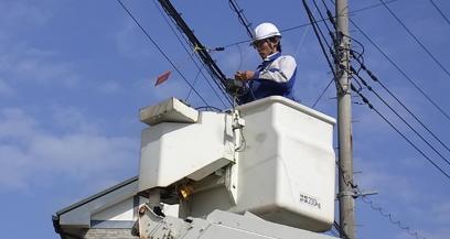 【千葉県匝瑳市】通信工事会社でNTT設備の工事及び保守業務【未経験者歓迎!】
