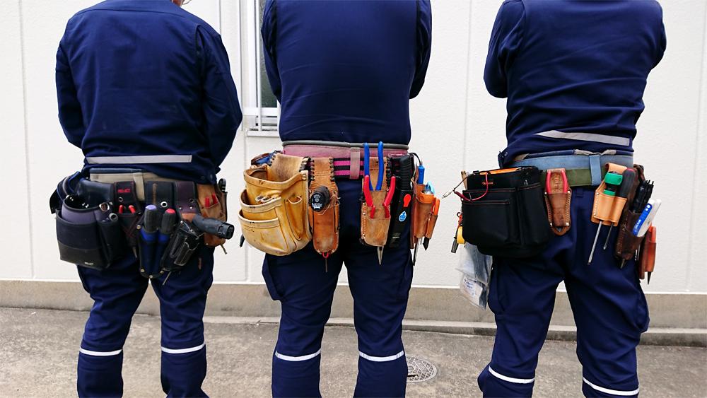 【大阪府】弱電・通信機器を取り扱う作業員を募集【創業40年】【電気工事士】